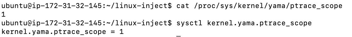 check current state using systemctl