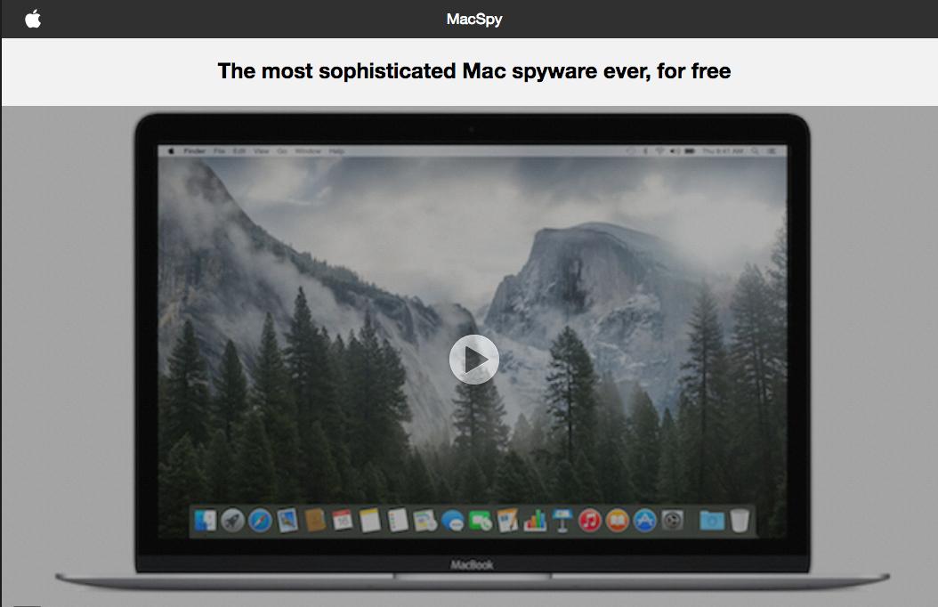 MacSpy home page