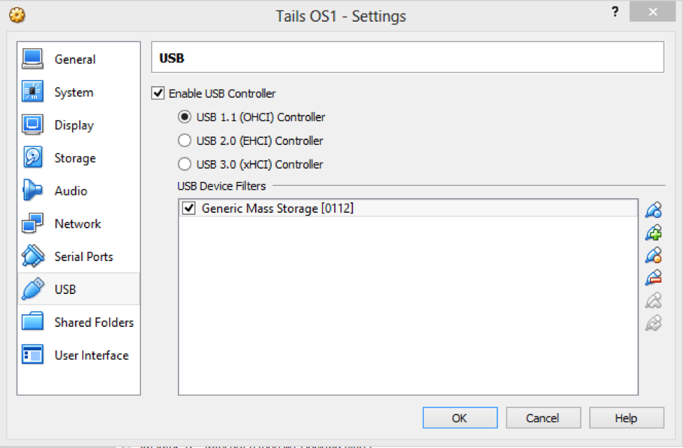 USB for Tails OS