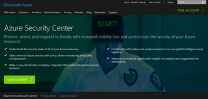 azure security center for security monitoring