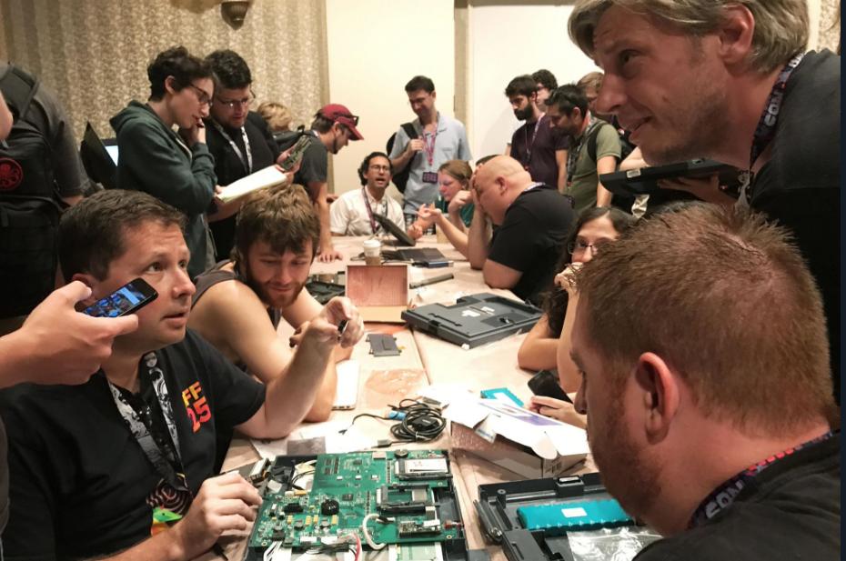 hacking village at DefCon 25