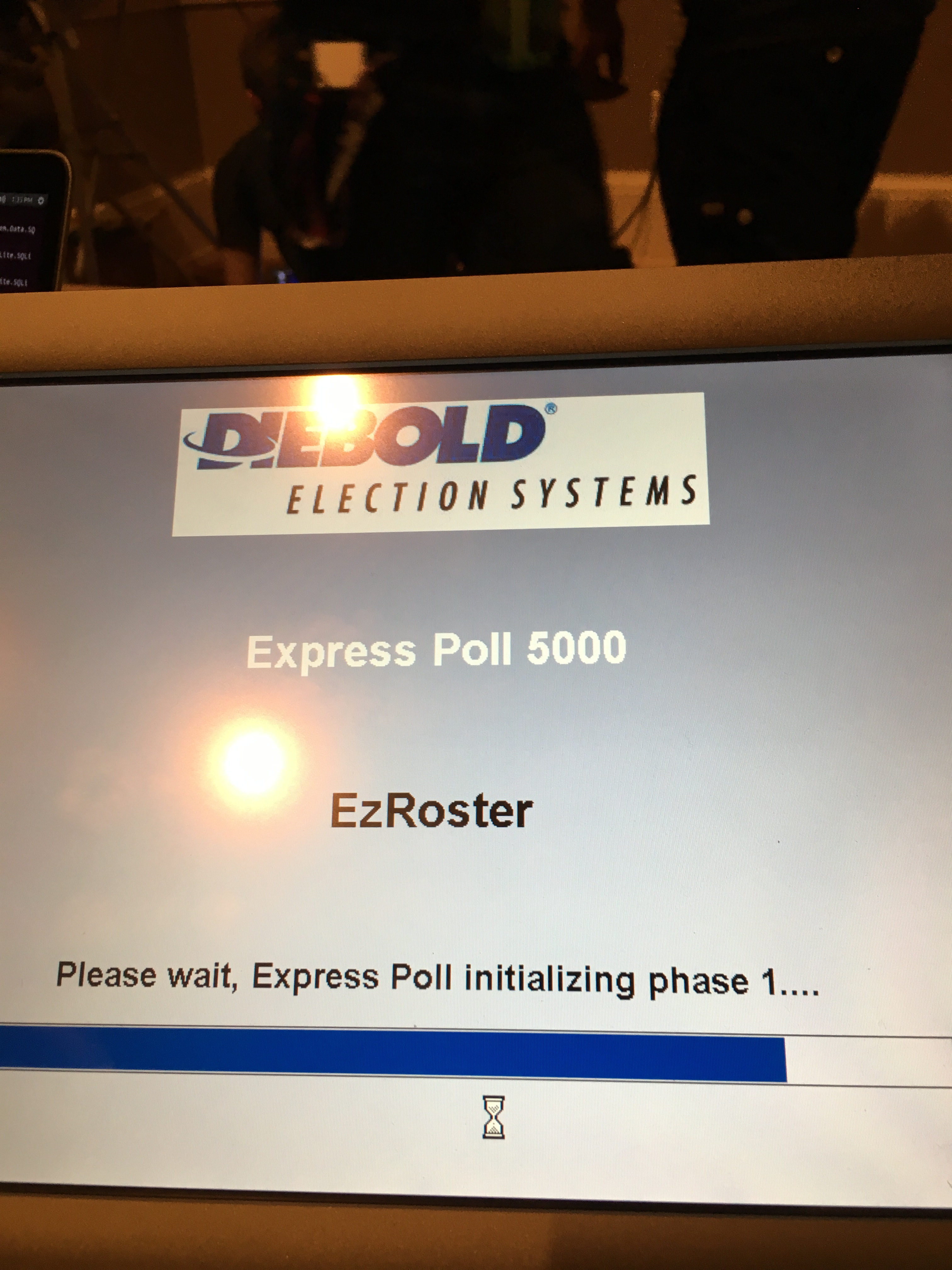 Diebold Express Poll 5000 is very insecure