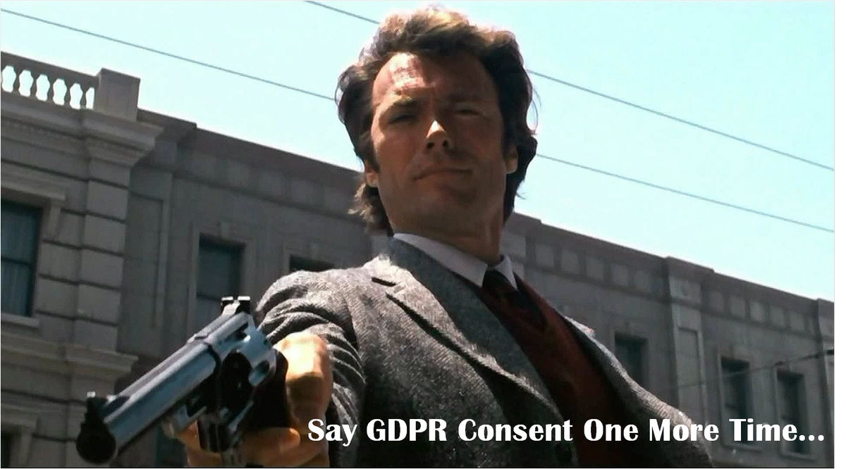 Meme about GDPR in InfoSec and security in general