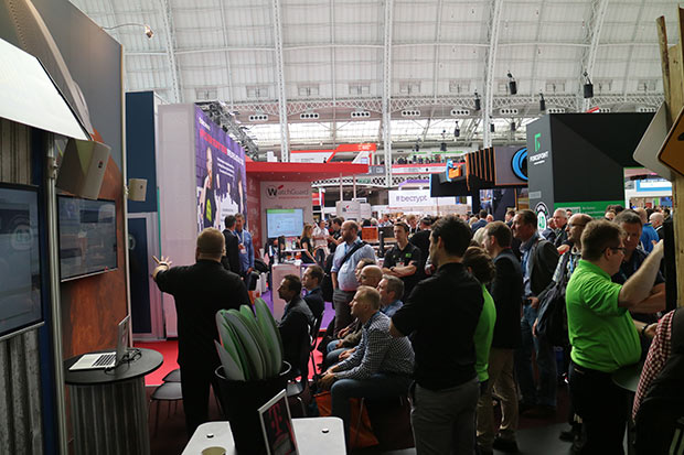 alienvault booth at infosec 2016