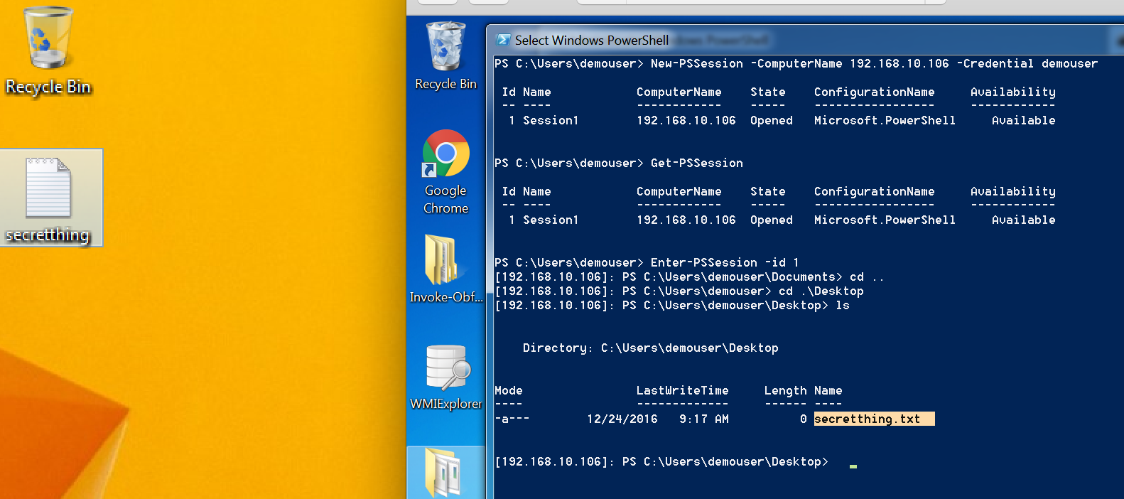 Windows Powershell Web Access Pentest