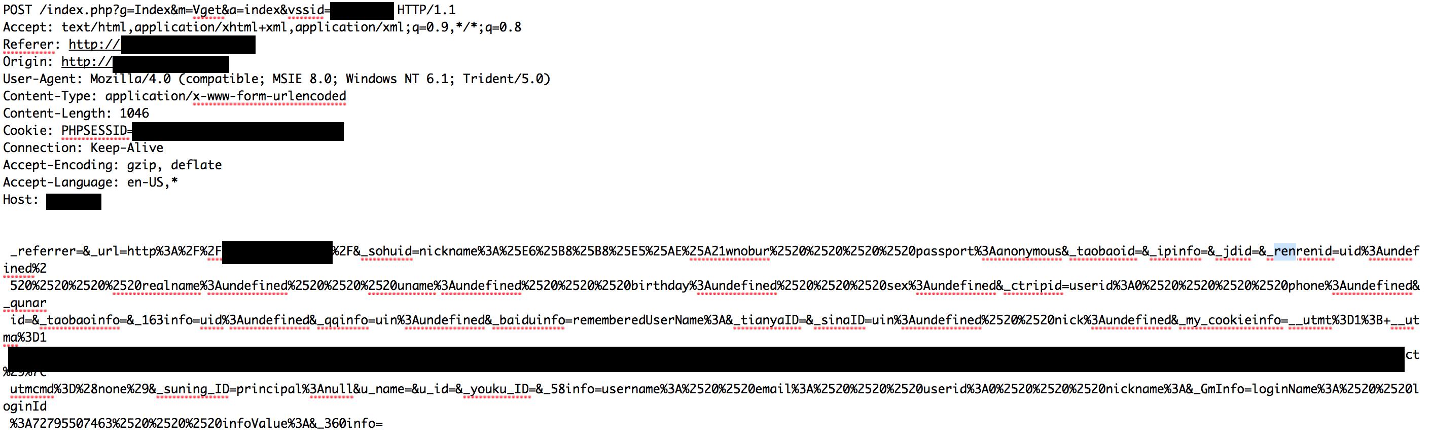malicious javascript
