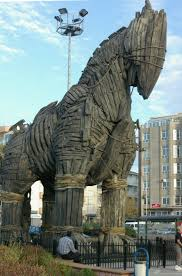 trojan horses are a common type of malware