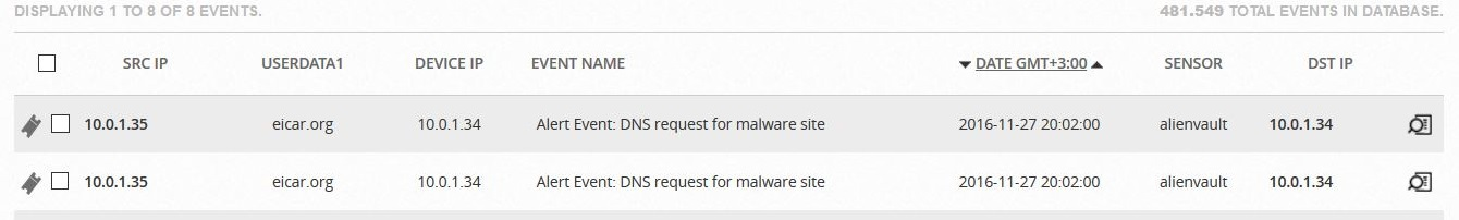 windows dns alerts in snort