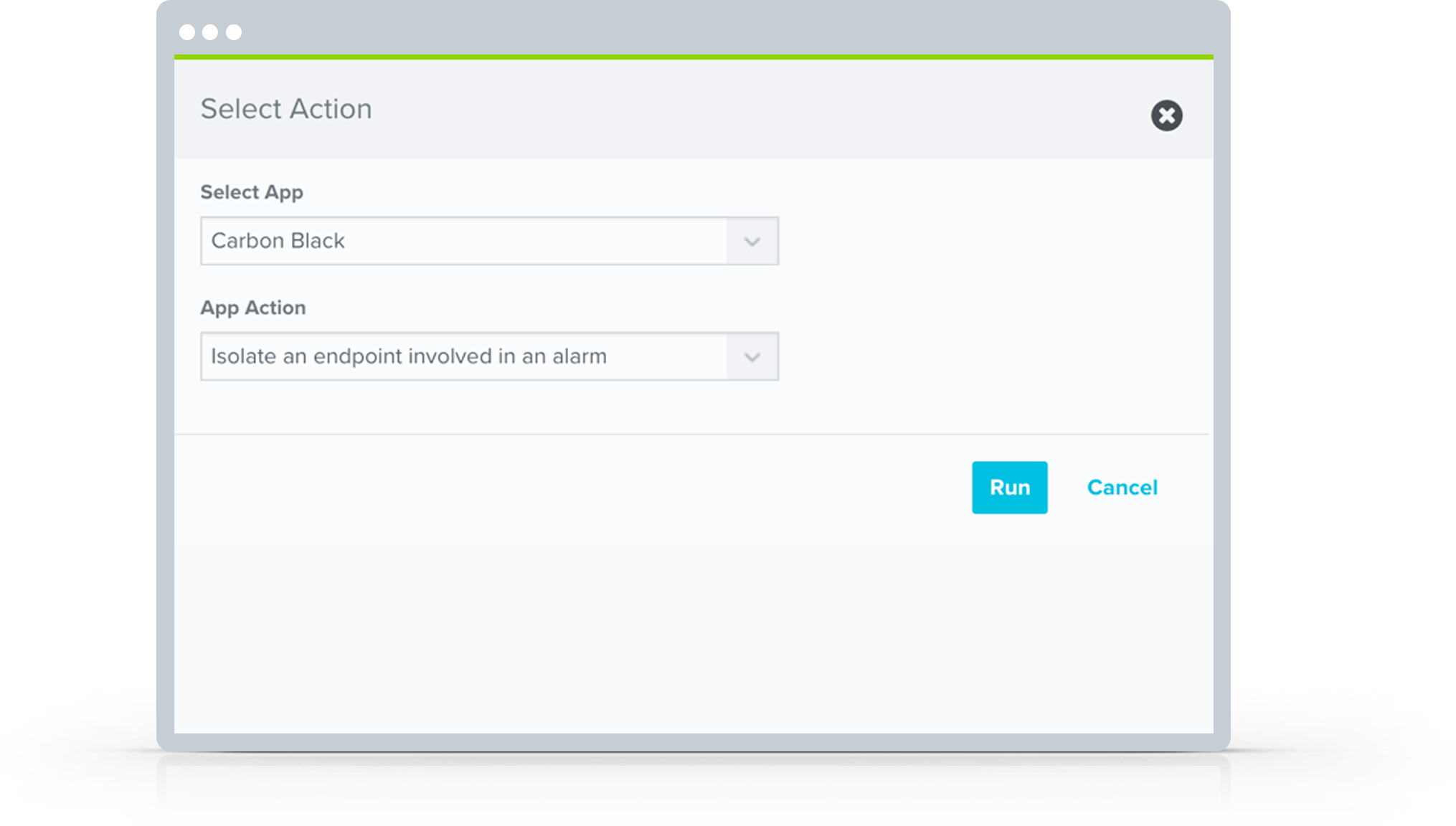 Isolate Carbon Black endpoints in AlienVault USM Anywhere with an automated incident response rule.