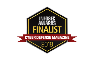 Cyber Defense Magazine (CDM) InfoSec Awards 2018 Finalist (1 of 2 listings)
