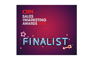 CRN Sales and Marketing Awards 2018 Finalist