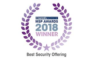 Channelnomics MSP Awards 2018 Winner – Best Security Offering