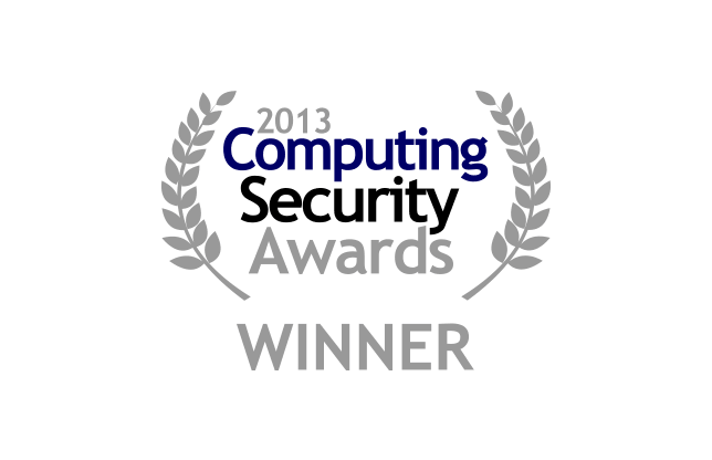 2013 Computing Security Awards Winner