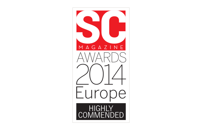 SC Magazine Europe Awards 2014 Highly Commended