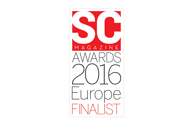 2016 SCMag Europe Awards Finalist