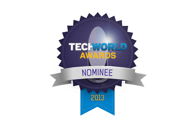 Finalist for the 2013 Techworld Awards, Security Product of the Year