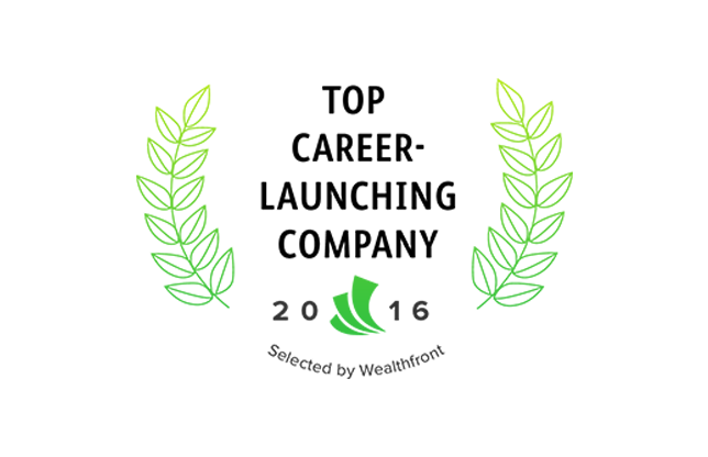 Wealthfront's 2016 Career-Launching Companies