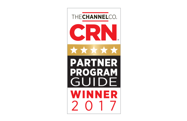AlienVault has earned a 5-Star Rating in CRN's 2017 Partner Program Guide!