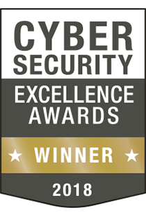 Cybersecurity Excellence Awards Winner 2018