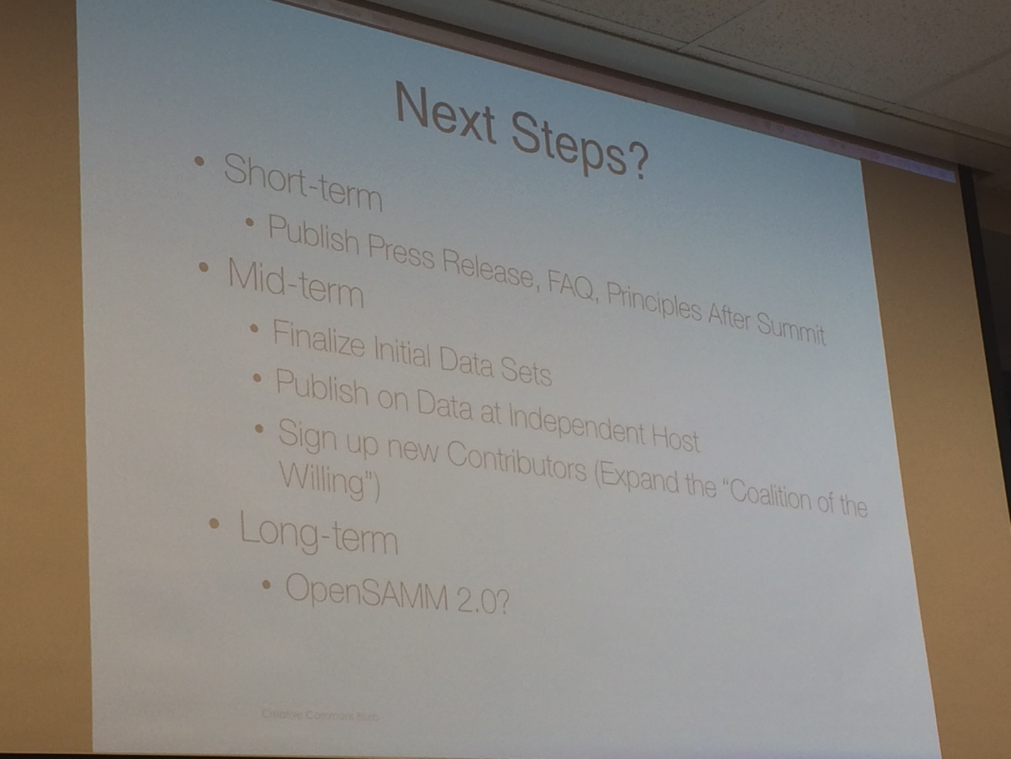 opensamm owasp next steps