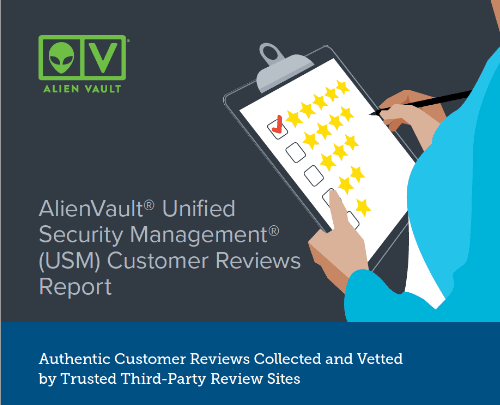 AlienVault® Unified Security Management® (USM) Customer