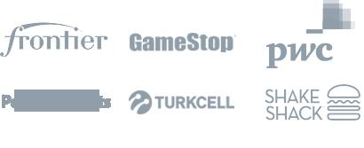 Frontier, PWC, GameStop, Turkcell, Shake Shack