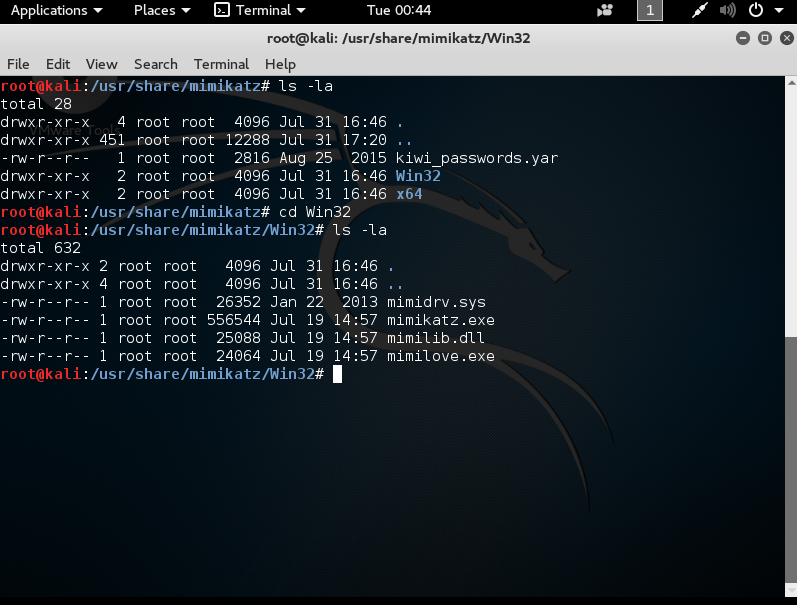 password cracking with mimikatz