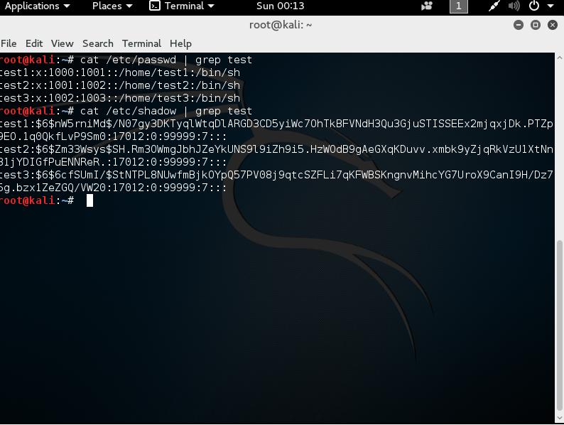linux etc/passwd
