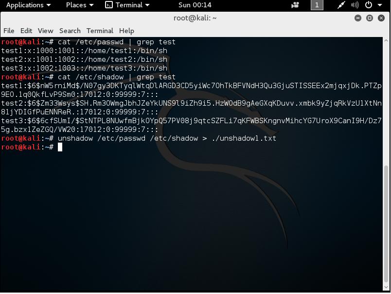 linux etc/shadow