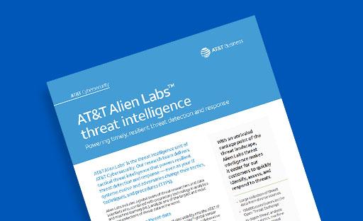 Threat Intelligence Data Sheet